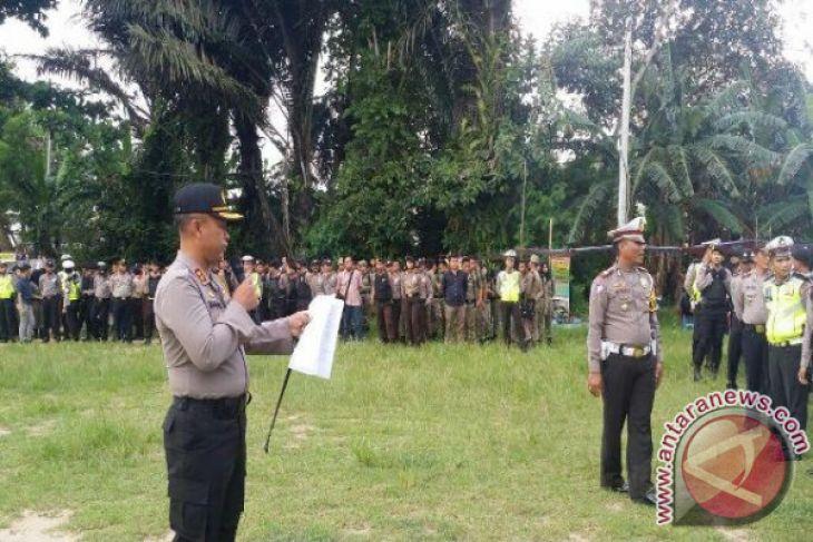 Polres Bangka Selatan gelar patroli berlapis