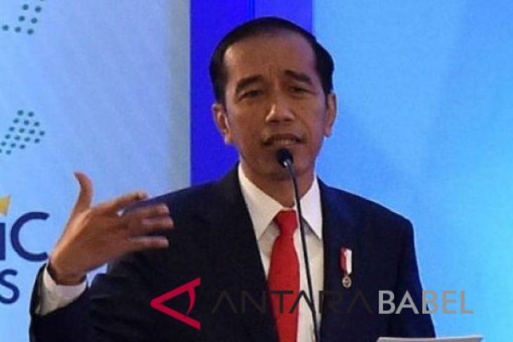 Jokowi speaks about amendments of constitution