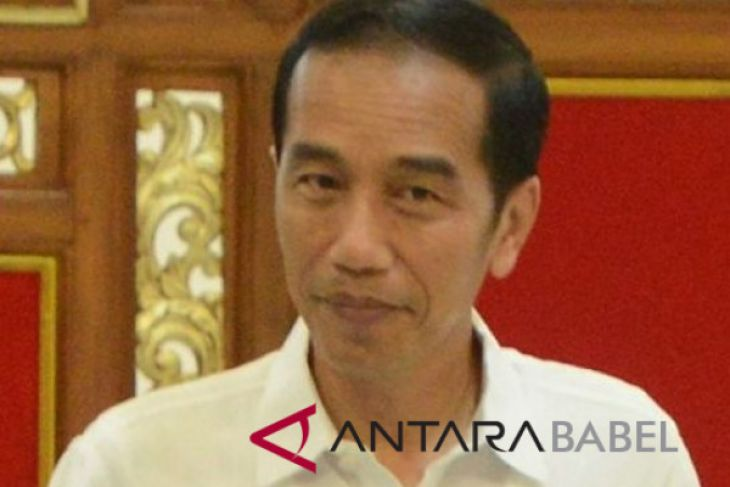 President Jokowi reviews infrastrukture projects in West Sumatera's village