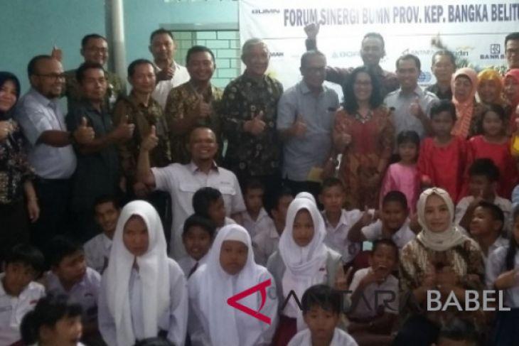 Forum Sinergi BUMN Babel kunjungi YPAC Pangkalpinang