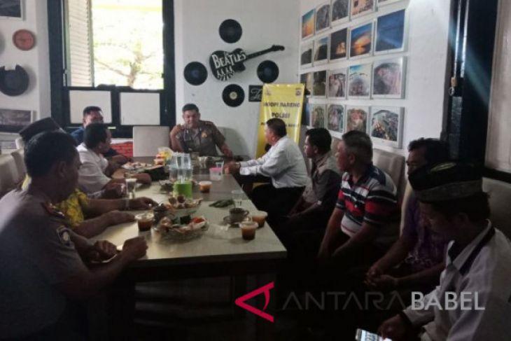 Kapolres Bangka Barat perkuat dialog bersama tokoh agama