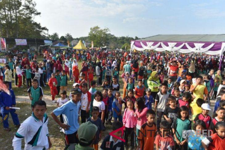 Pemkab Bangka Tengah canangkan desa layak anak