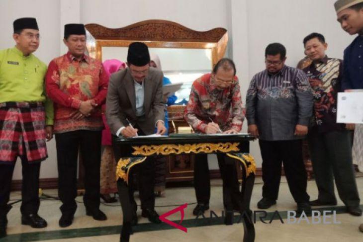Bangka Barat-Palembang tingkat kerja sama pariwisata