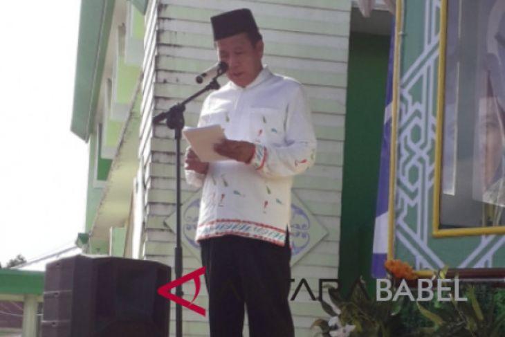 Pemkab Bangka Tengah serahkan bonus juara MTQ