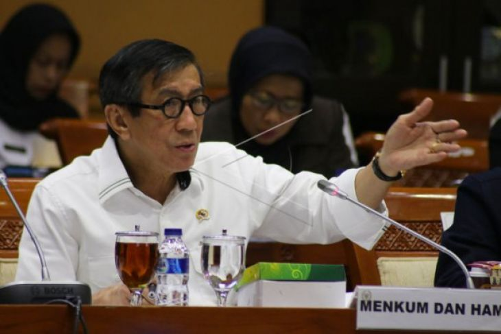 MPR: Presiden Jokowi tegur Menkumham terkait RUU terorisme