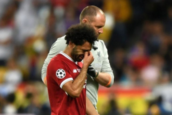 Sergio Ramos doakan Mohamed Salah cepat pulih