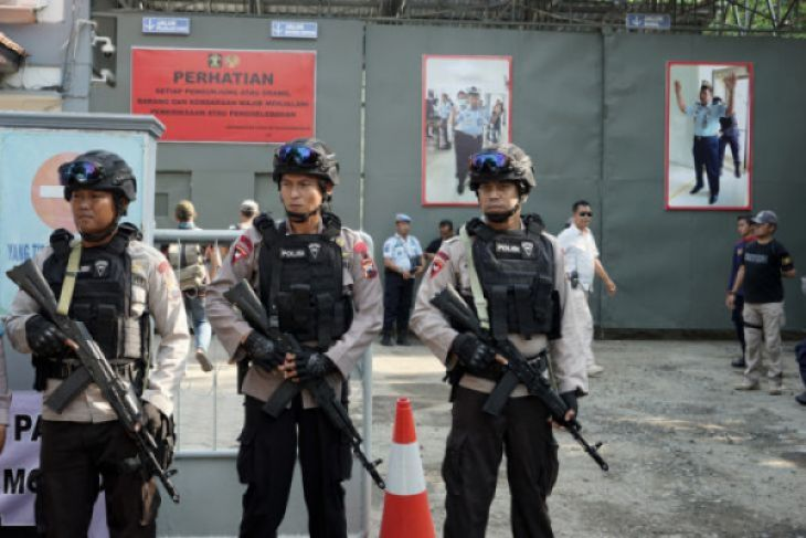 Polri selidiki narapidana teroris bunuh lima Polisi