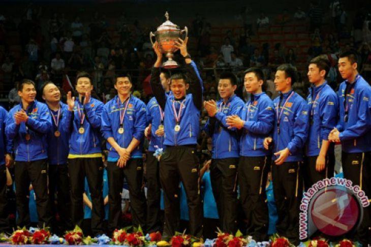 China Kalahkan Jepang untuk raih Piala Thomas