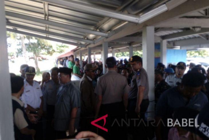 Gubernur dan Kapolda Babel pantau Pelabuhan Tanjungkalian