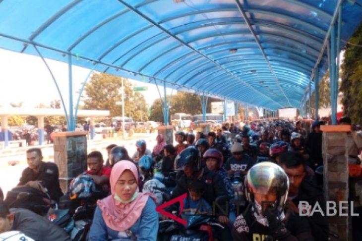 18.043 penumpang kapal berangkat dari Pelabuhan Tanjungkalian