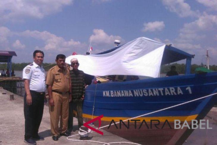 Pemkab Belitung operasikan kapal bantuan Kemenhub