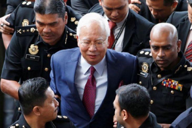 Najib Razak bayar uang jaminan ke Mahkamah Tinggi