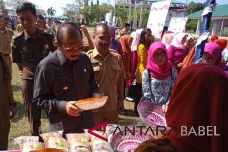 Pemkab Bangka Barat fasilitasi promosi produk UMKM
