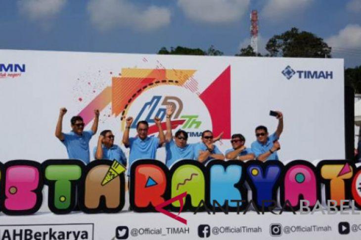 Seribu warga Belitung Timur padati pesta rakyat PT Timah