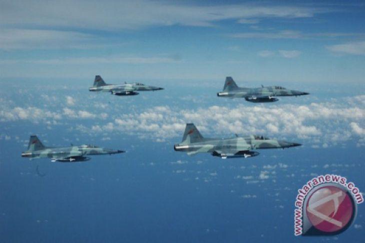 TNI AU hibahkan pesawat F-5 Tiger untuk monumen di alun-alun Madiun
