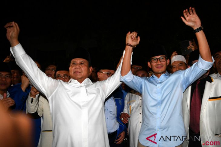 Ini harta kekayaan Prabowo Subianto dan Sandiaga Uno
