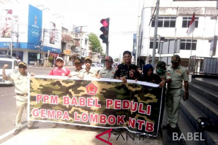 PPM Babel galang dana untuk korban gempa Lombok