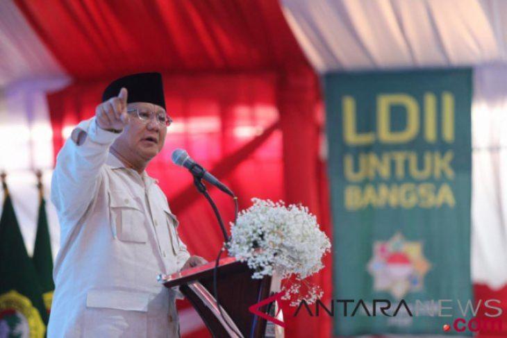 Prabowo Subianto tegaskan akan hormati putusan rakyat di Pilpres 2019