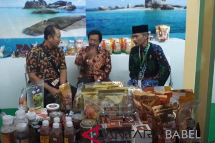 Babel pamerkan produk UMKM di Pameran Halal Food MTQ Nasional XXVI