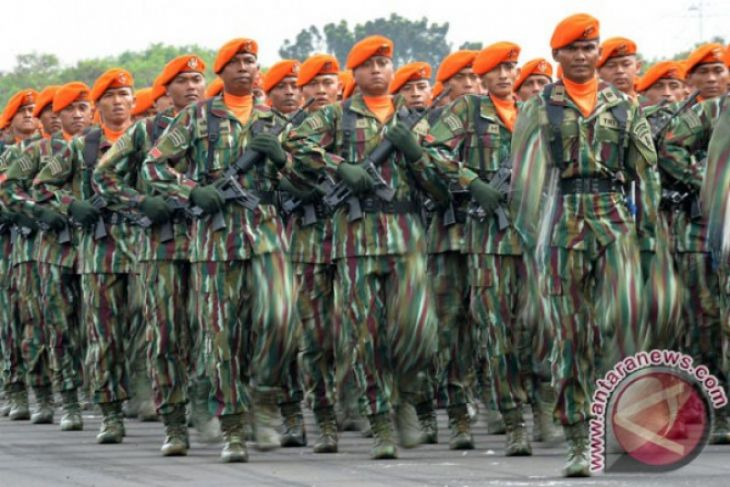 Danlanud Supadio lepas prajurit Paskhas ke Papua