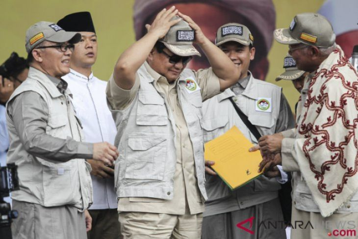 Deklarasi Dukungan Komando Ulama Pemenangan Prabowo-Sandi