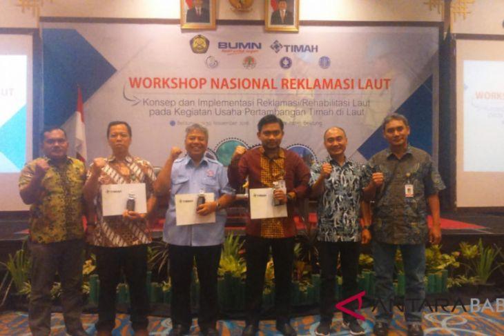 PT Timah gelar workshop nasional reklamasi laut