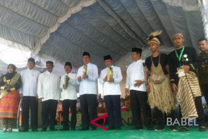 Menag buka kemah Rohani Islam nasional di Belitung