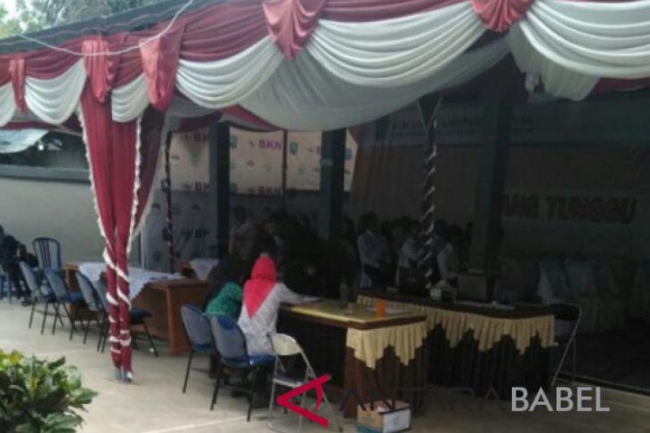 Pemkab Belitung laksanakan tes SKD CASN 2018
