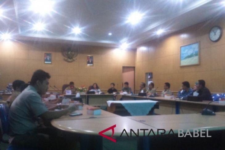 Pemkab Belitung gelar rakor pengembangan kawasan industri Suge