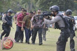 Polda Bali Gelar Latihan Pengawalan Capres