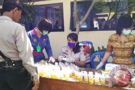 Tim gabungan tes urine sopir bus di Mengwi