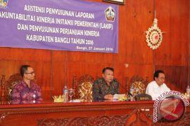 Pj Bupati Buka Asistensi Penyusunan LAKIP dan Perjanjian Kinerja Kabupaten Bangli 2016