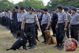 1.637 polisi amankan sertijab Gubernur Bali