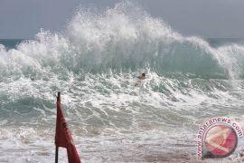BMKG: tinggi gelombang laut Selat Bali-Lombok 2,5-4 meter