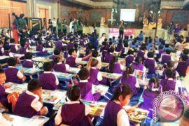 Alfamart Bali Gelar Lomba Mewarnai Kategori Anak-Anak