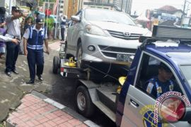 Tim gabungan Denpasar tindak 78 kendaraan pelanggar rambu lalu lintas