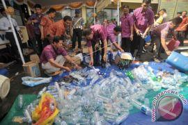 Polda Bali musnahkan 2.137 botol minuman keras