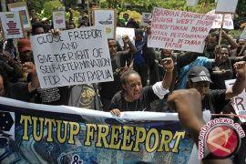 Polisi Bersenjata Amankan Demonstrasi Mahasiswa Papua