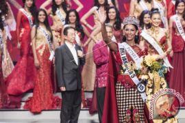 Bunga Jelita Ibrani Puteri Indonesia 2017