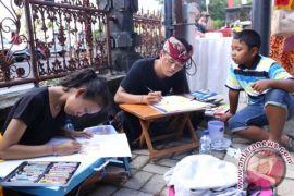 Belasan Peserta Ikuti Lomba Poster Paribasa Bali