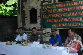 Pemkab Badung-TNIi Komitmen Wujudkan Kedaulatan Pangan
