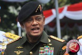 Panglima TNI Antarkan Marsekal Hadi Hadiri Uji Kelayakan