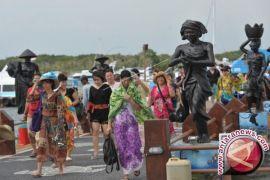 Januari-Maret 2018, wisatawan China ke Bali turun