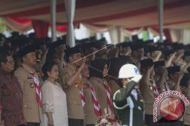 Presiden Jokowi Minta Pramuka Jangan Cuma Dilatih Tali-Temali