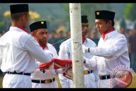Umar Patek Jadi Pengibar Bendera
