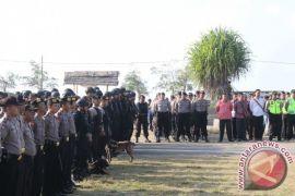 Ratusan personel Polda kawal penyelenggaraan