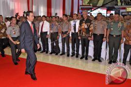 Presiden Menyambangi Kampus Akpol di Semarang
