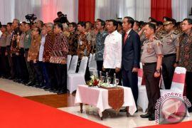 Presiden Buka Apel Kasatwil 2017