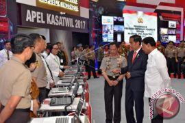 Presiden Ingatkan Polri untuk Siap Menghadapi Kejahatan Lebih Canggih