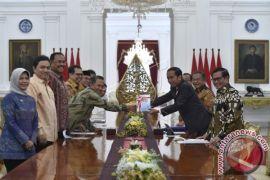 Presiden Jokowi Terima Pimpinan dan Anggota BPK